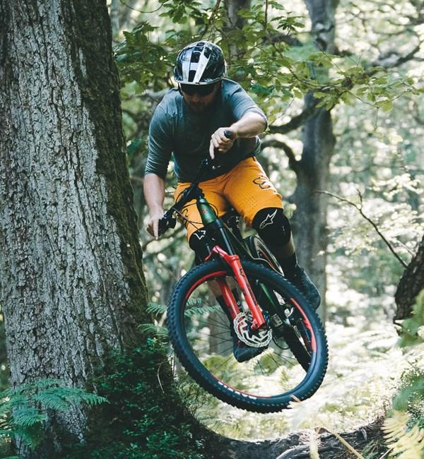 Merida Big Trail jump