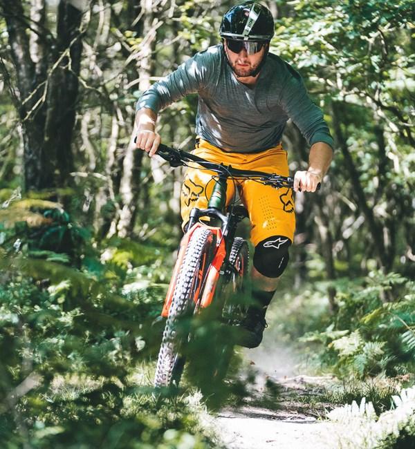 Merida Big Trail trail riding