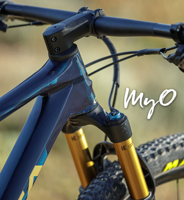 Personalise your bike with Orbea's MyO customisation service