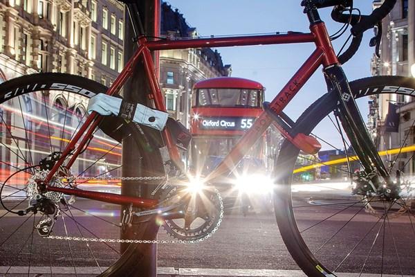 bike locked up in Londonndon