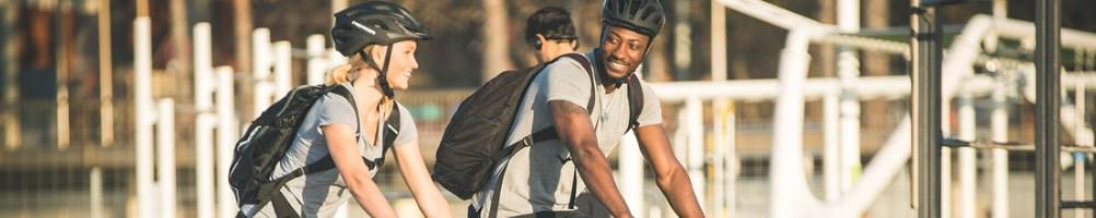 Hybrid cyclists in urban setting