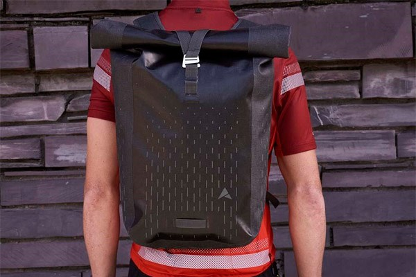 Waterproof cycling backpack