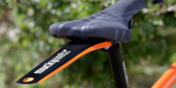 A lightweight, easily-removable rear mudguard