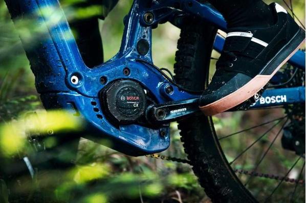 Bosch ebike motor detail