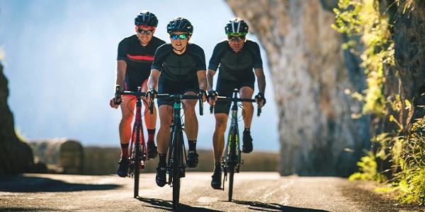 two-cyclists-riding-endurance-road-bikes