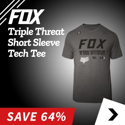 Fox Triple Threat Short Sleeve Tech Tee