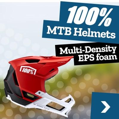 100% MTB Helmets
