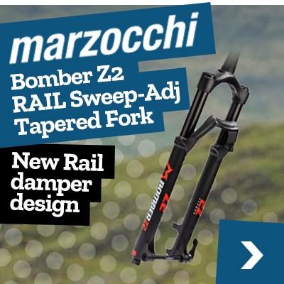 Marzocchi Bomber Z2 RAIL Sweep-Adj Tapered Fork