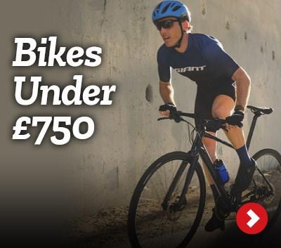Shop bikes under £750