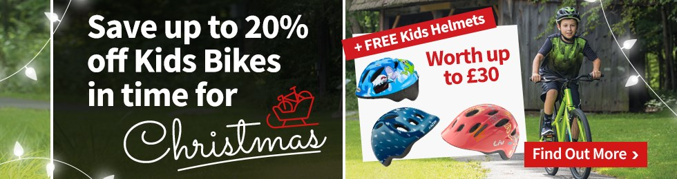 Save up to 20% off Kids Bikes
