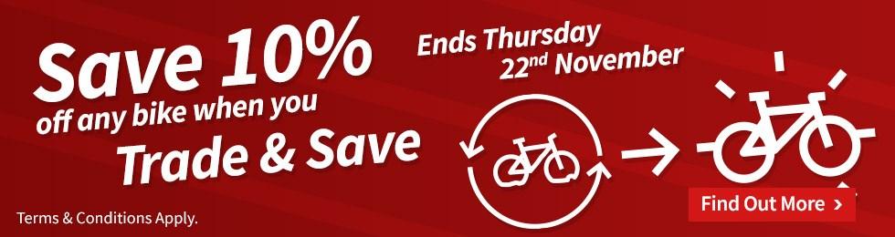 Save 10% off any bike - Ending soon