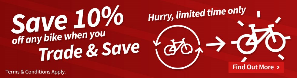 Save 10% off any bike