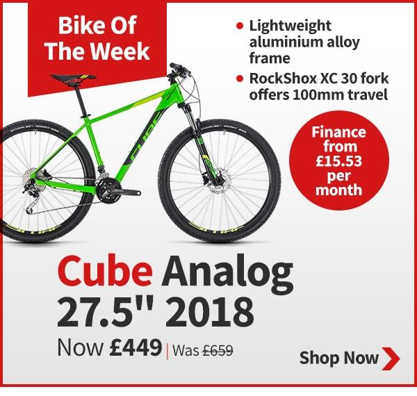 Tredz Bike of the Week - Cube Analog 27.5