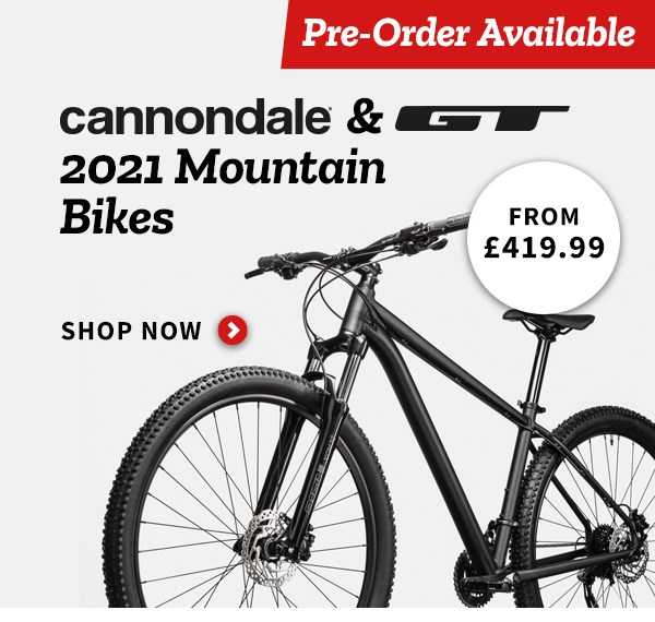 Cannondale & GT 2021 MTB