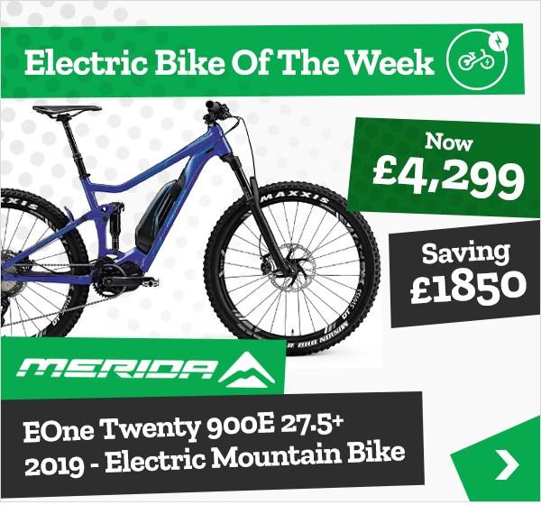 Tredz Bike of the Week - Merida EOne Twenty Electric MTB
