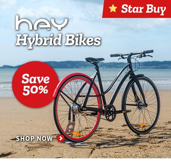 Hey Hybrid Bikes