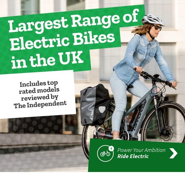 Electric Bikes - Largest Range