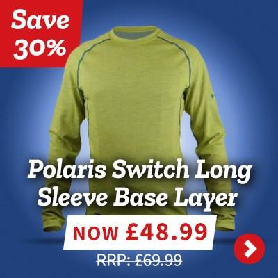 Polaris Switch Long Sleeve Base Layer