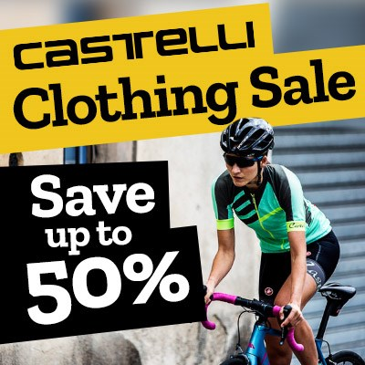 Castelli Clothing Sale - Save up to 50%