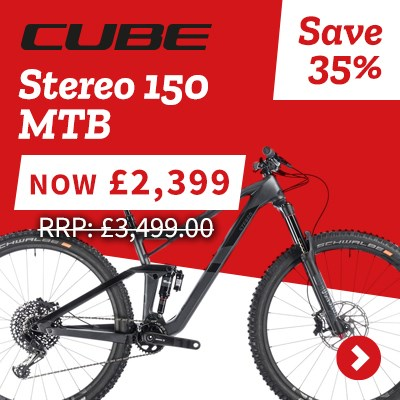 Cube Stereo 150 MTB - Save 35%
