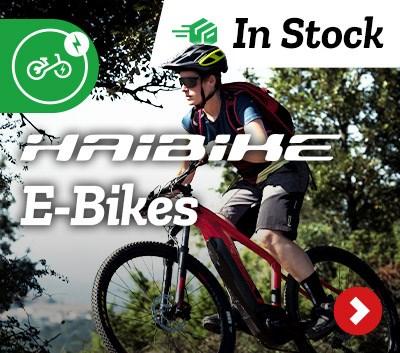 In Stock Haibike E-Bikes