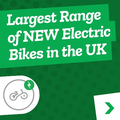 Electric Bikes - Largest Range of New E Bikes in the UK