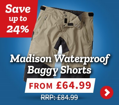 Madison Waterproof Baggy Shorts