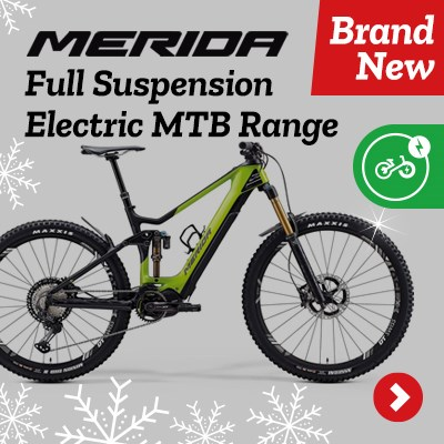 Merida Full Sus Electric MTB Range