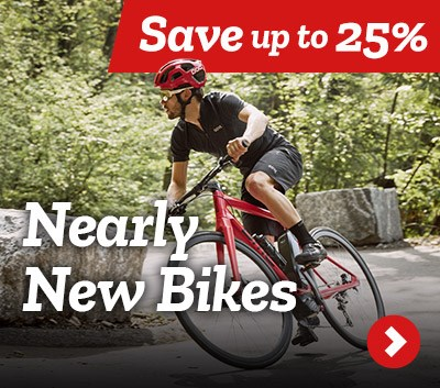 Nearly New Bikes - Save up to 25%