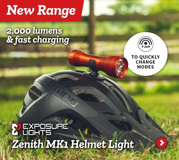 Exposure Zenith MK1 Helmet Light