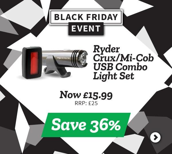 Ryder Crux/Mi-Cob USB Combo Light set