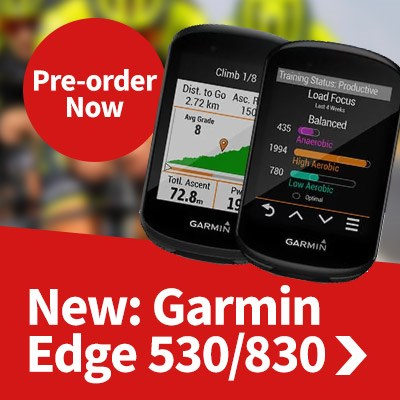 Garmin Edge 530 & 830 - Pre-order Now
