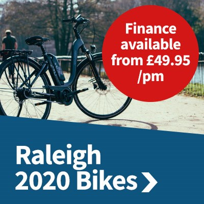Raleigh 2020 Bikes - Finance available from £49.95/pm