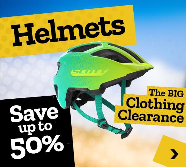 Big Clothing Clearance - Helmets