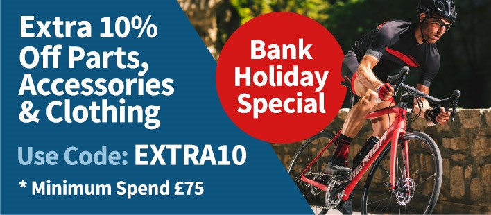10% Off Bikes Now On