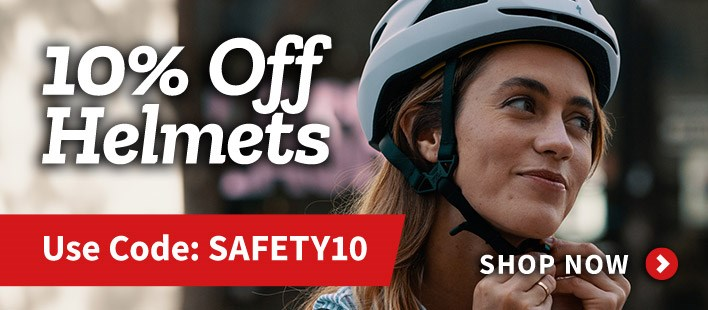 Helmets - Save 10%