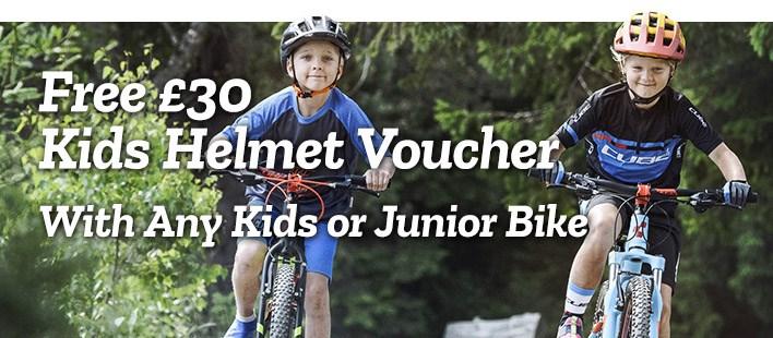 Helmets - Free £30 Voucher