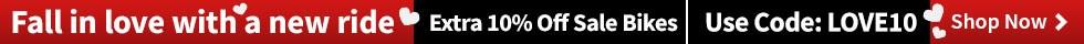 Extra 10% off Bikes