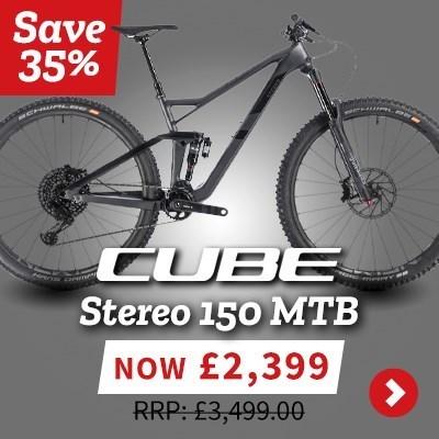 Cube Stereo 150 MTB - Save 35%