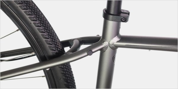 A close-up of the Crosstrail 2020 frame