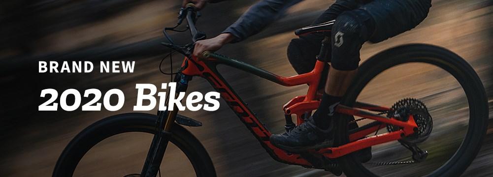 A 2020 Scott Full Suspension Mountain Bike