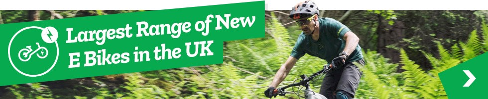 Largest range of New E Bikes in the UK