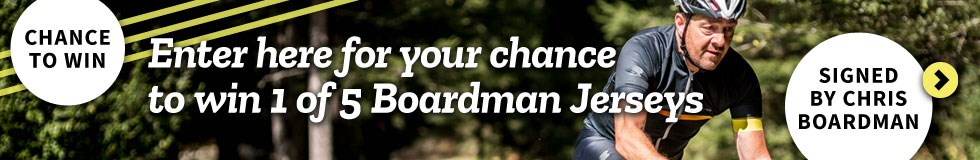 Enter here for your chance to win 1 of 5 Boardman Jerseys
