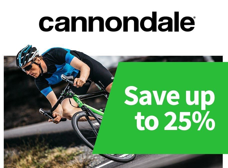 Cannondale - Save up to 25%