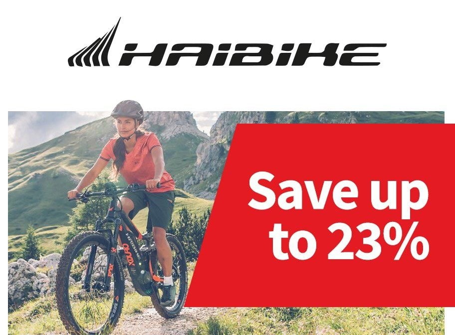 Haibike - Save up to 23%
