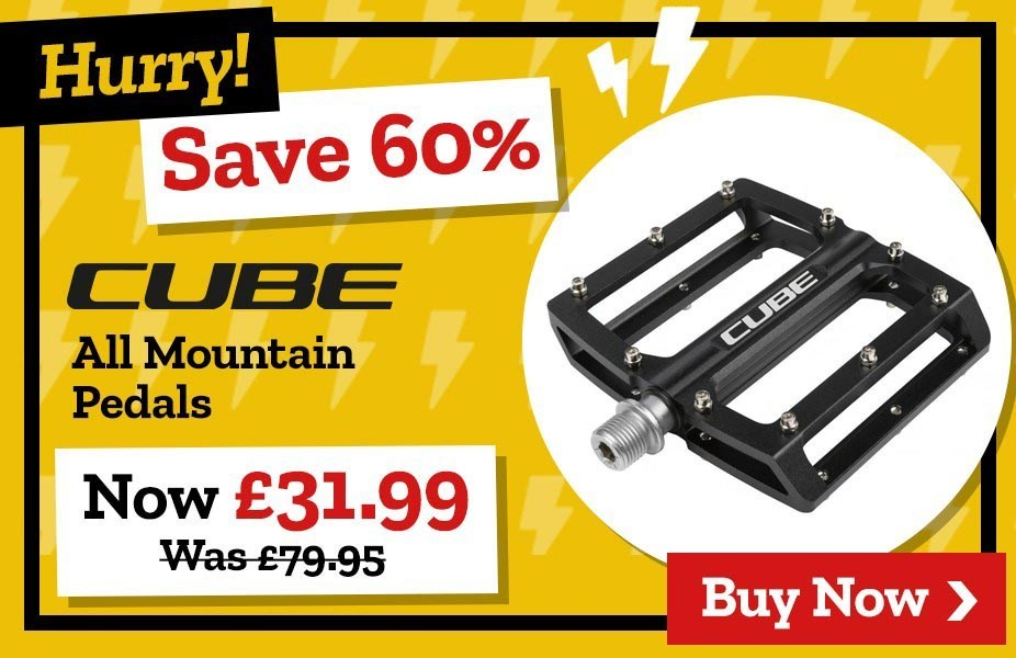Save 60% on Cube All Mountain Pedals