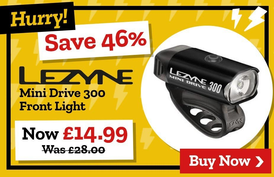 Save 46% on Lezyne Front Light
