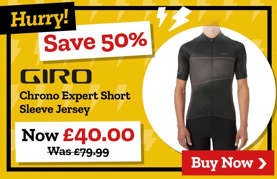 Save 50% on Giro Chrono Expert Short Sleeve Jersey