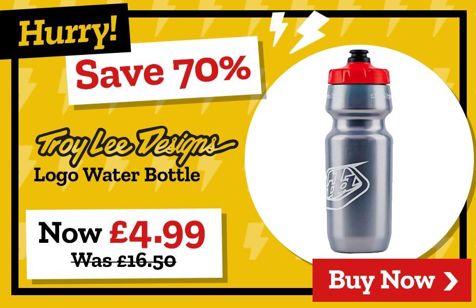 Save 70% on Troy Lee Designs Logo Water Bottle