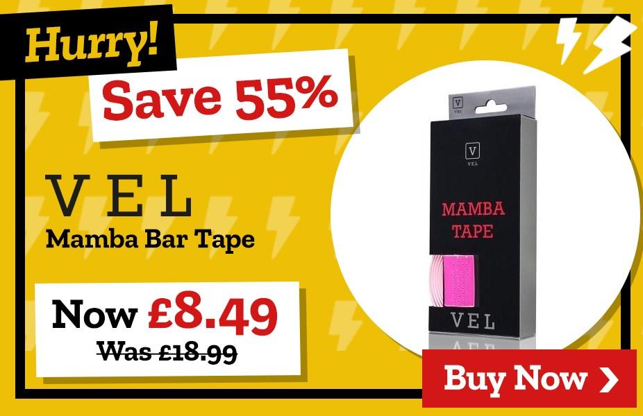 Save 55% on VEL Mamba Bar Tape